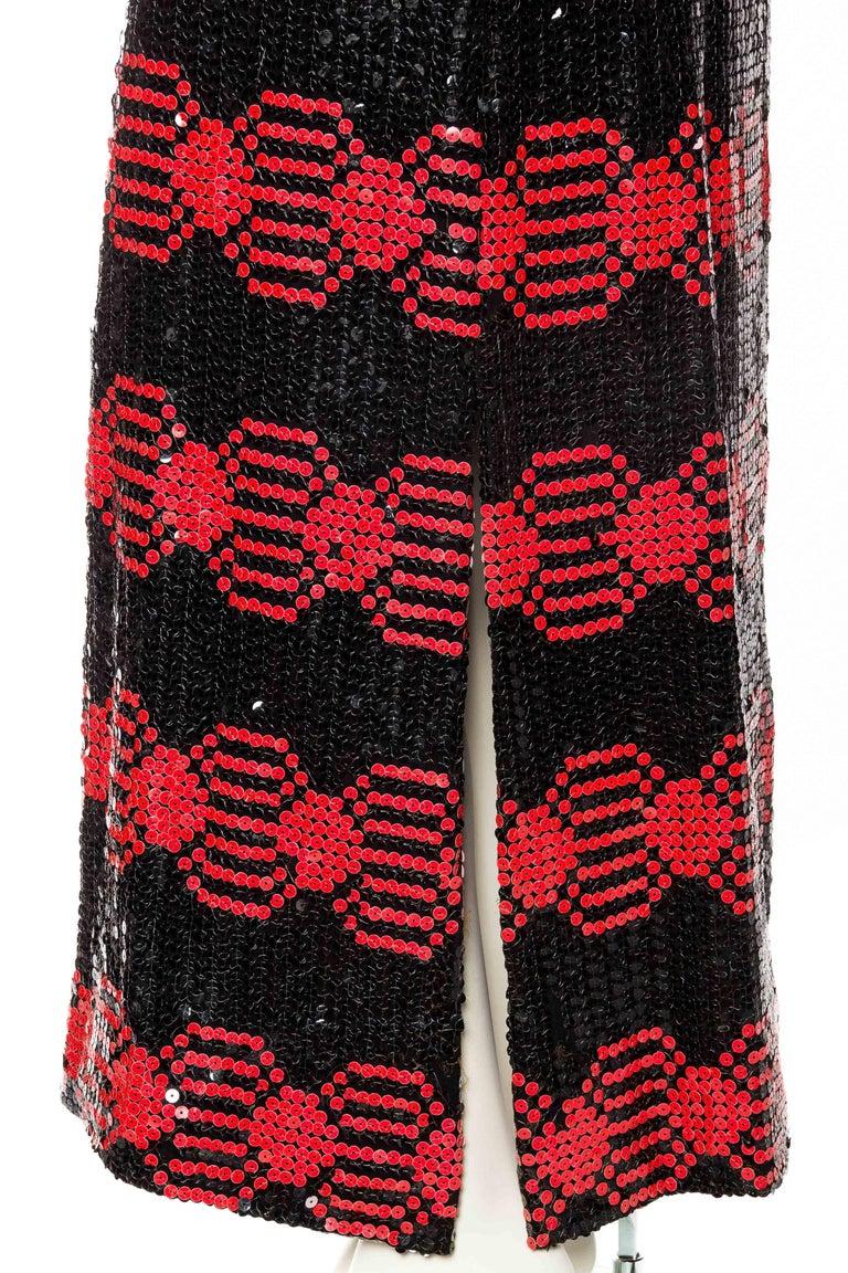 Adele Simpson Mod Sequin Dress For Sale 2