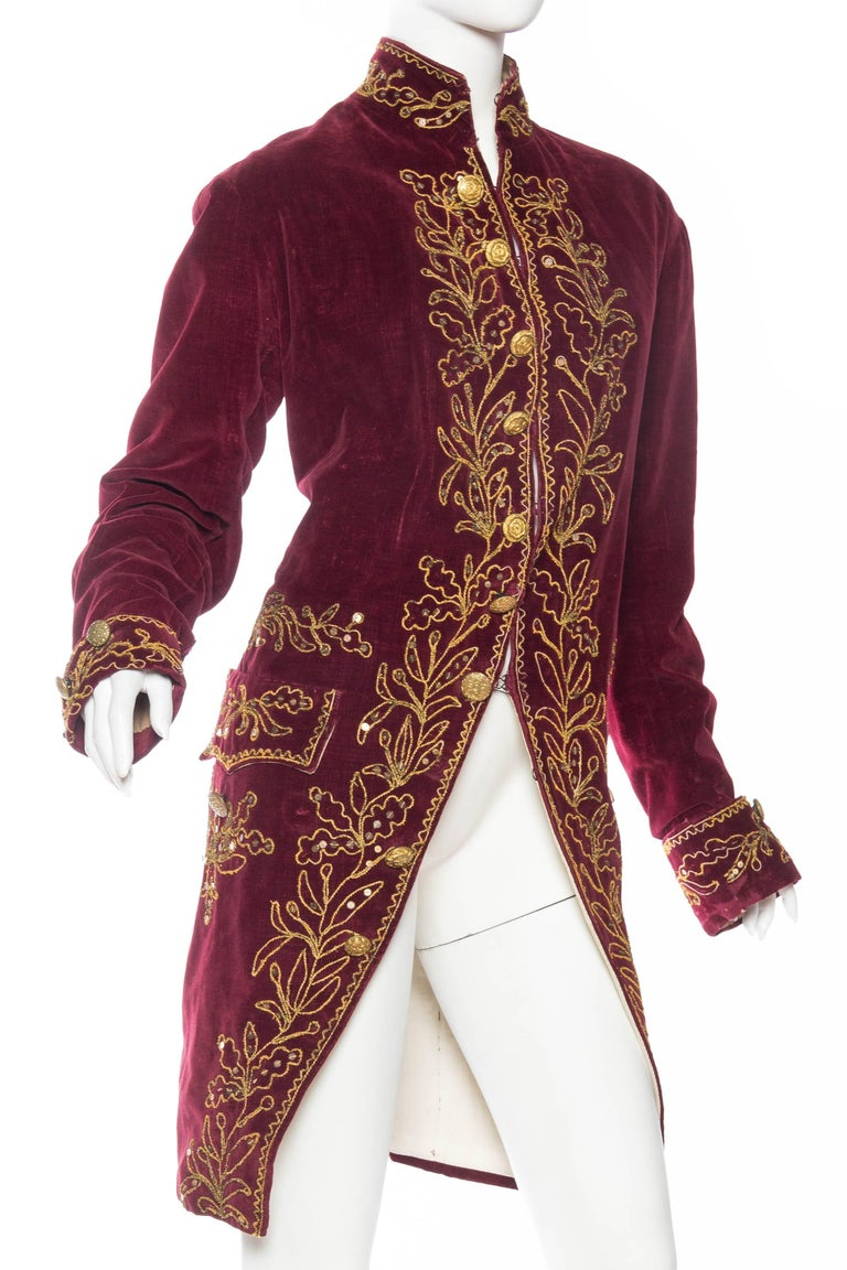 Antique French 18th Century Style Frock Coat In Good Condition For Sale In New York, NY