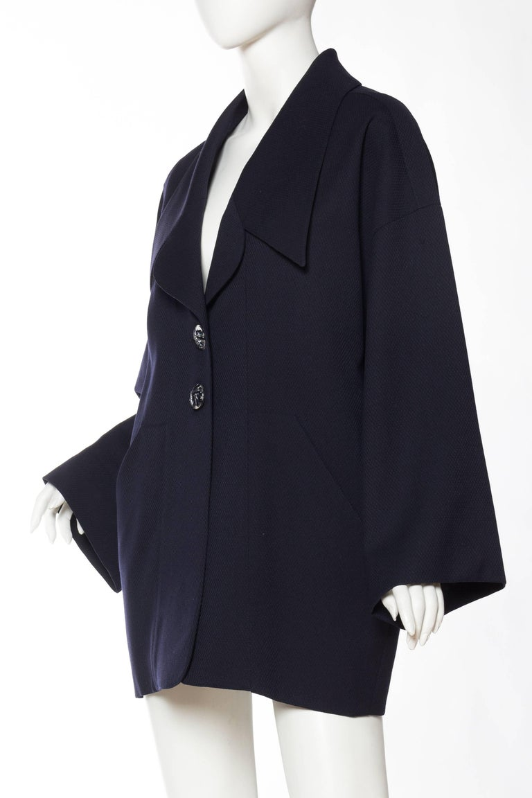 Karl Lagerfeld Oversized Blazer, 1980s  In Good Condition For Sale In New York, NY