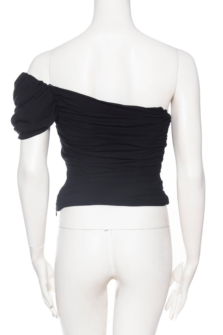 Vivienne Westwood Draped Corset Top For Sale 1