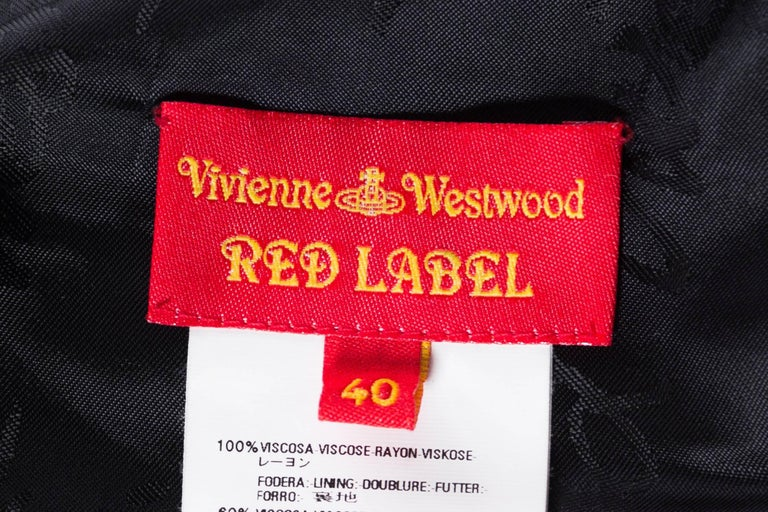 Vivienne Westwood Draped Corset Top For Sale 5