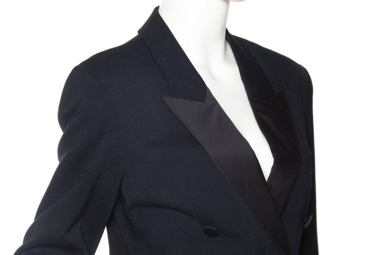 Vivienne Westwood Gold Label Satin Lapel Tuxedo Jacket For Sale 1