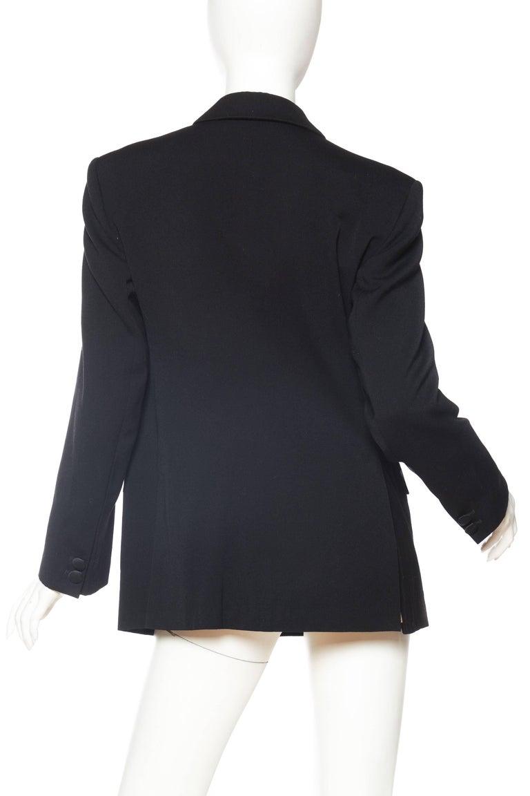 Women's Vivienne Westwood Gold Label Satin Lapel Tuxedo Jacket For Sale