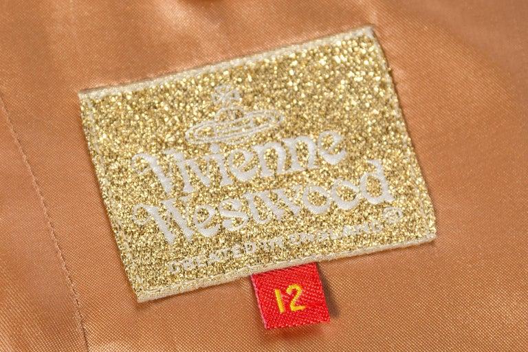 Vivienne Westwood Gold Label Satin Lapel Tuxedo Jacket For Sale 3