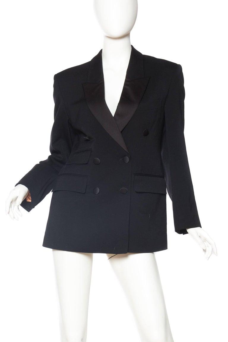 Vivienne Westwood Satin Lapel Tuxedo Jacket