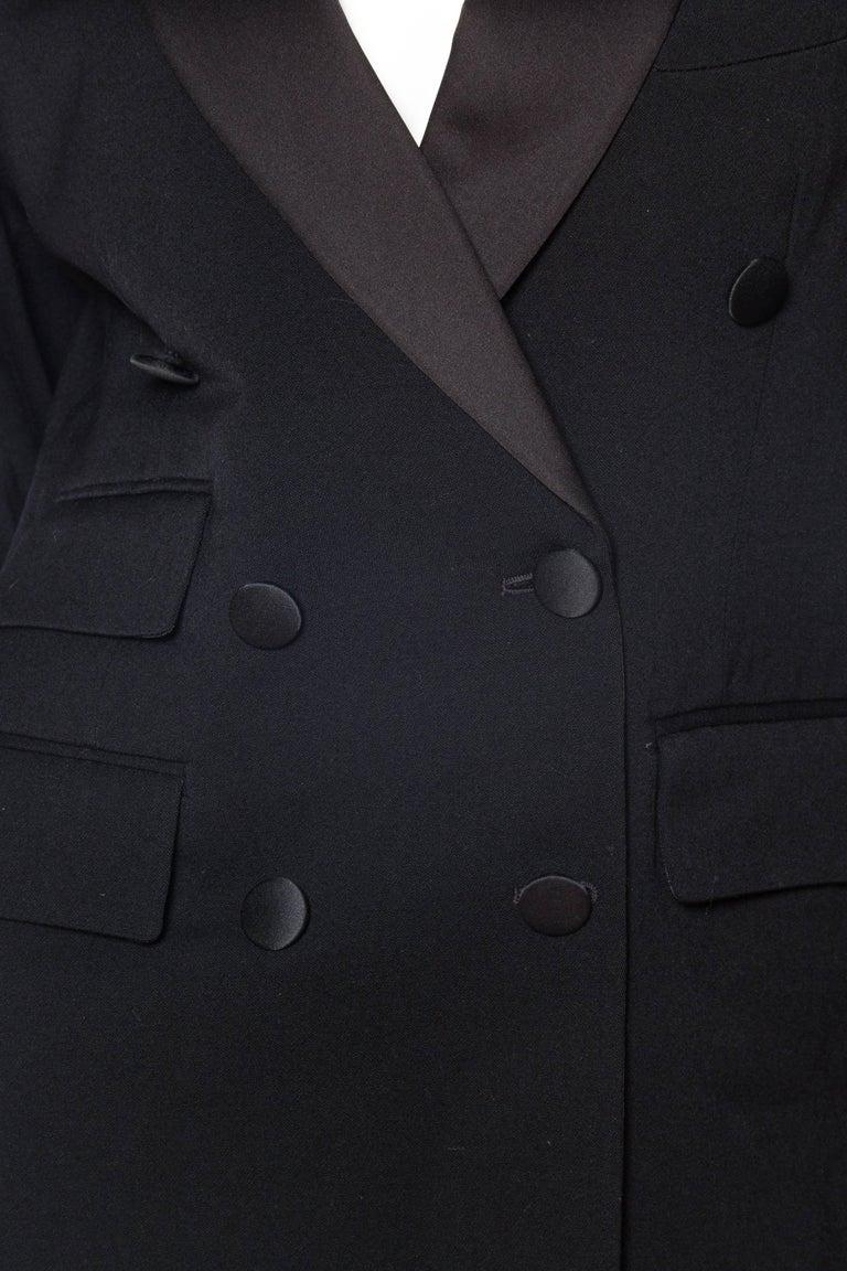 Vivienne Westwood Gold Label Satin Lapel Tuxedo Jacket For Sale 2