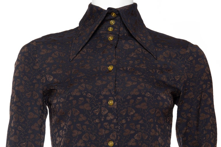 Vivenne Westwood Gold Label Floral Blouse For Sale 1