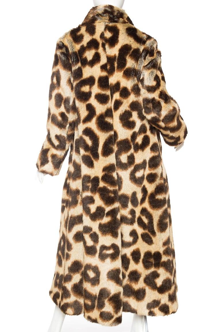 Women's Vivienne Westwood Lush Faux Leopard Coat For Sale