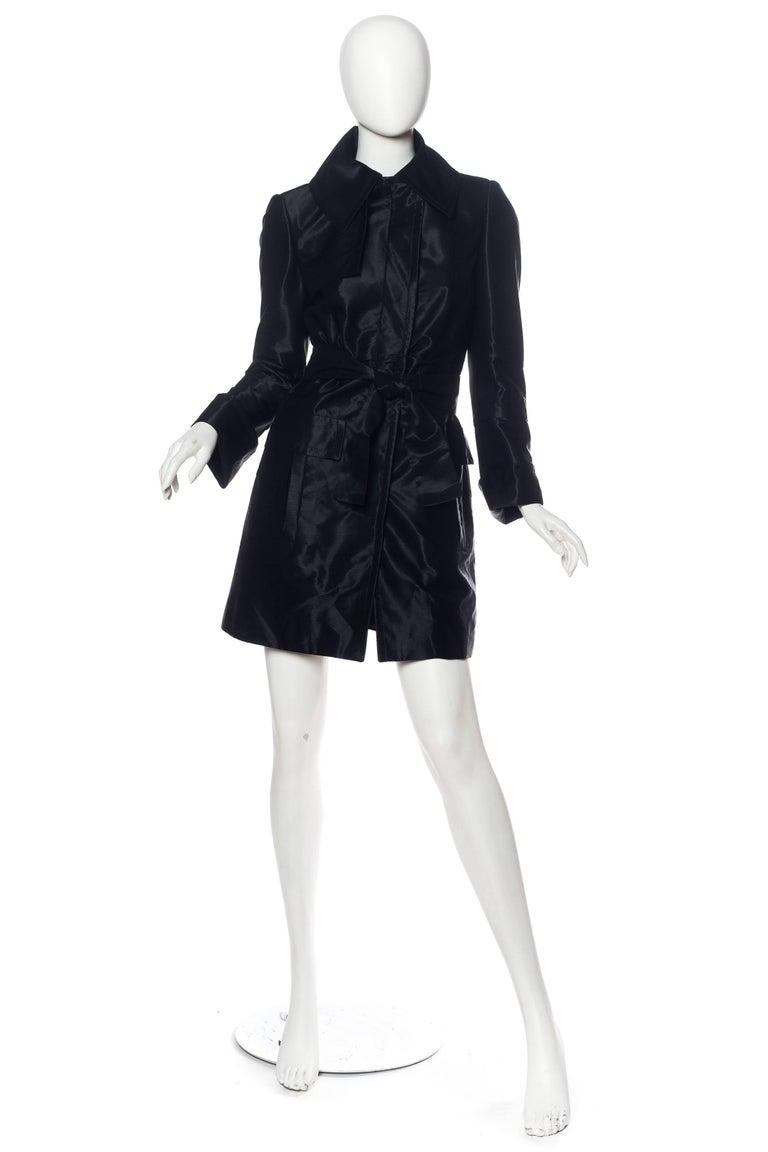 Black Sexy Gucci Rain Coat For Sale