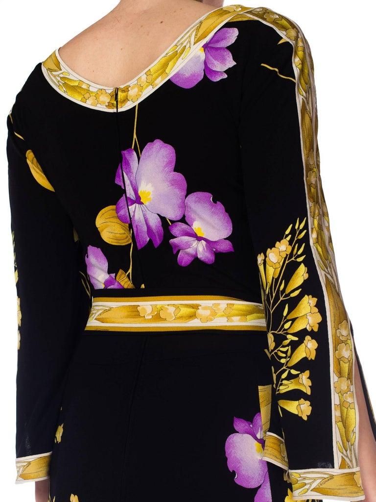 1970s Leonard Jersey Dress For Sale 5