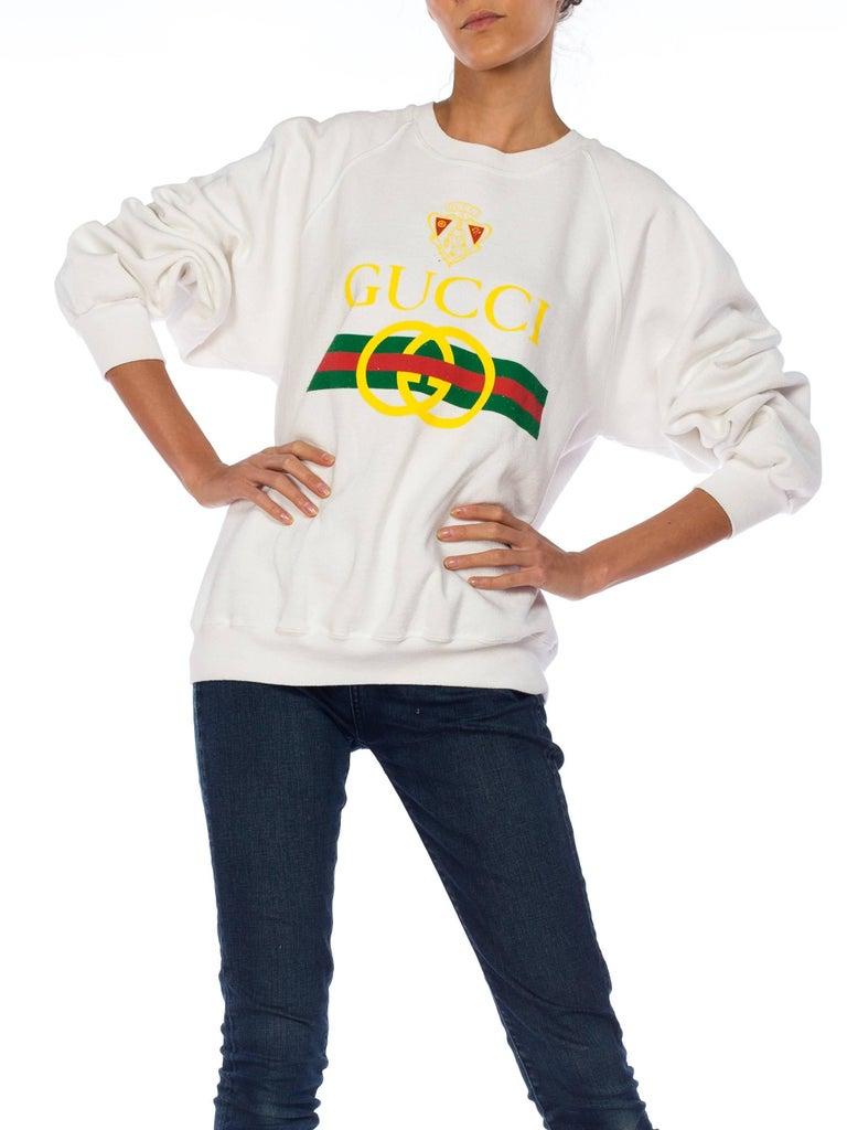 de2f3ae5 Gucci Bootleg 1980s Sweatshirt For Sale 1
