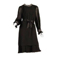 Pierre Cardin Beaded Dress