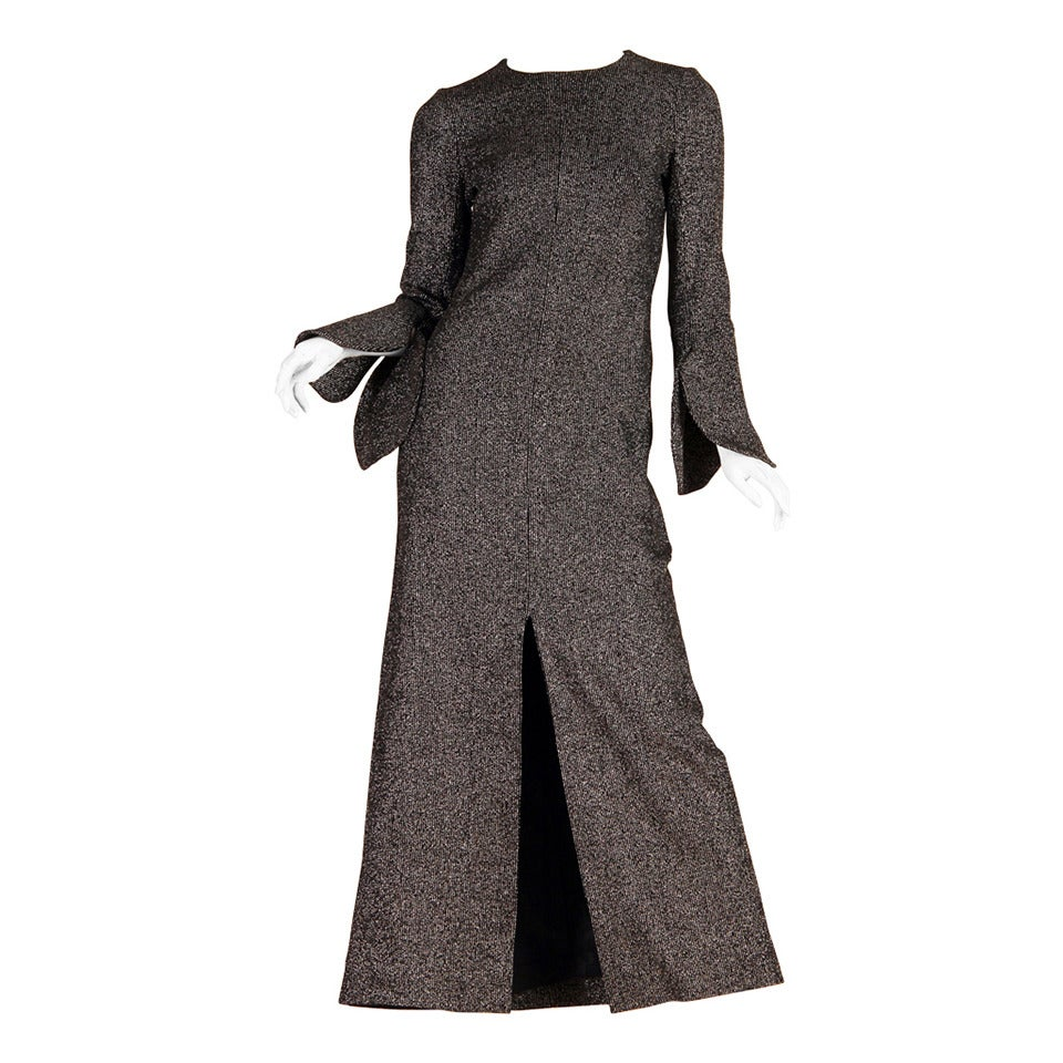 c97f68d2efd 1960 70s Pierre Cardin Space Age Disco Dress at 1stdibs