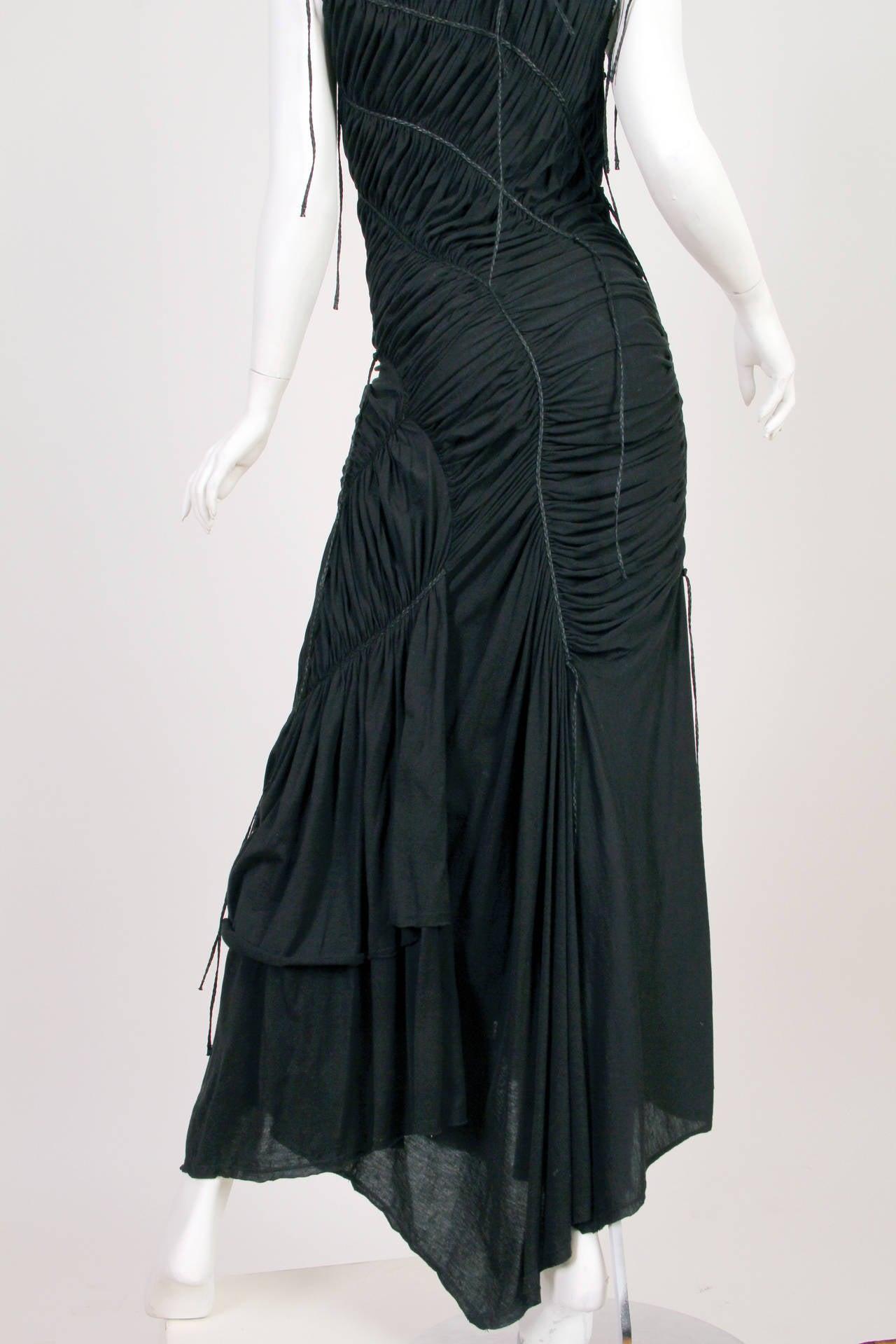 Issey Miyake Goth Jersey Gown 7