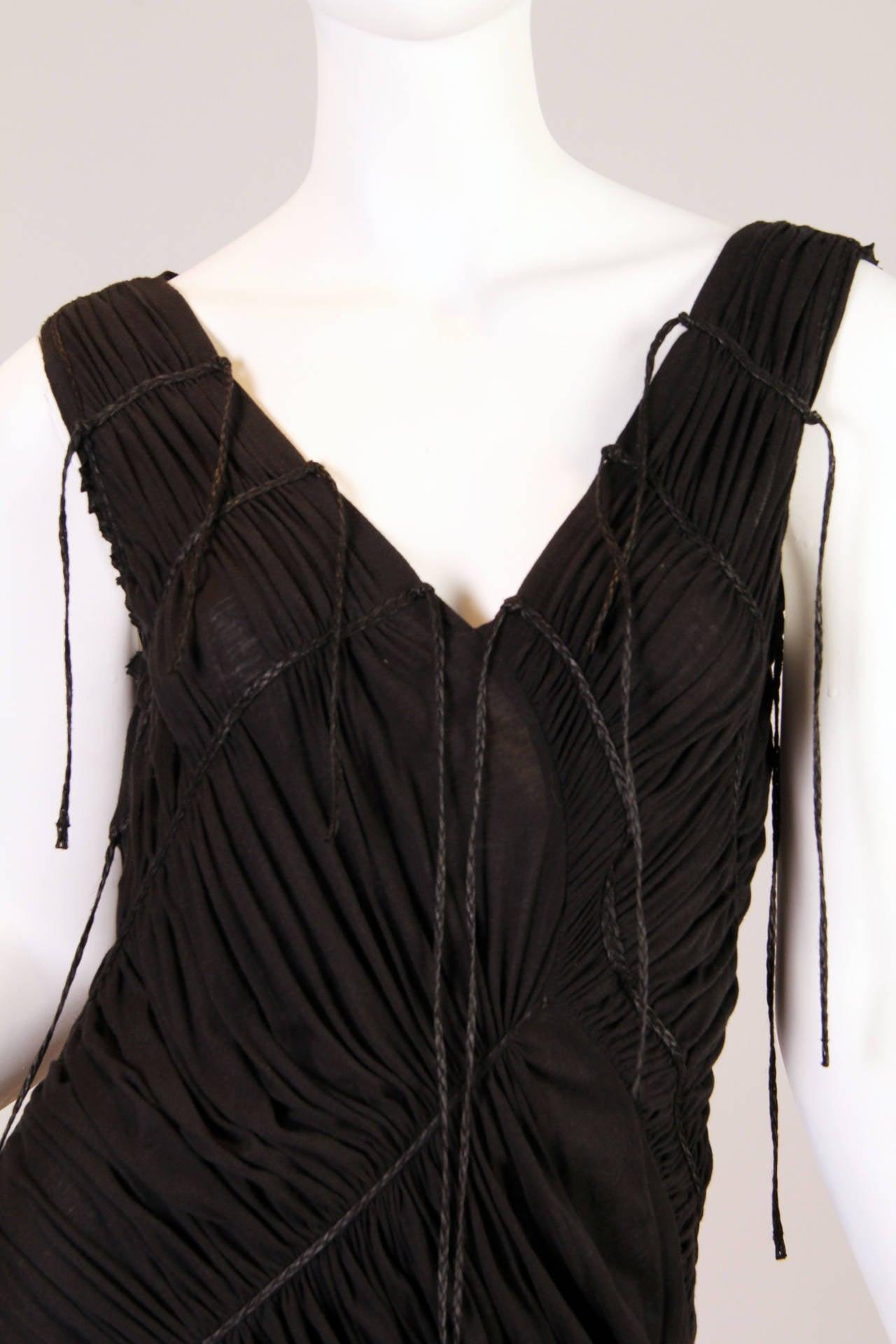 Issey Miyake Goth Jersey Gown 8