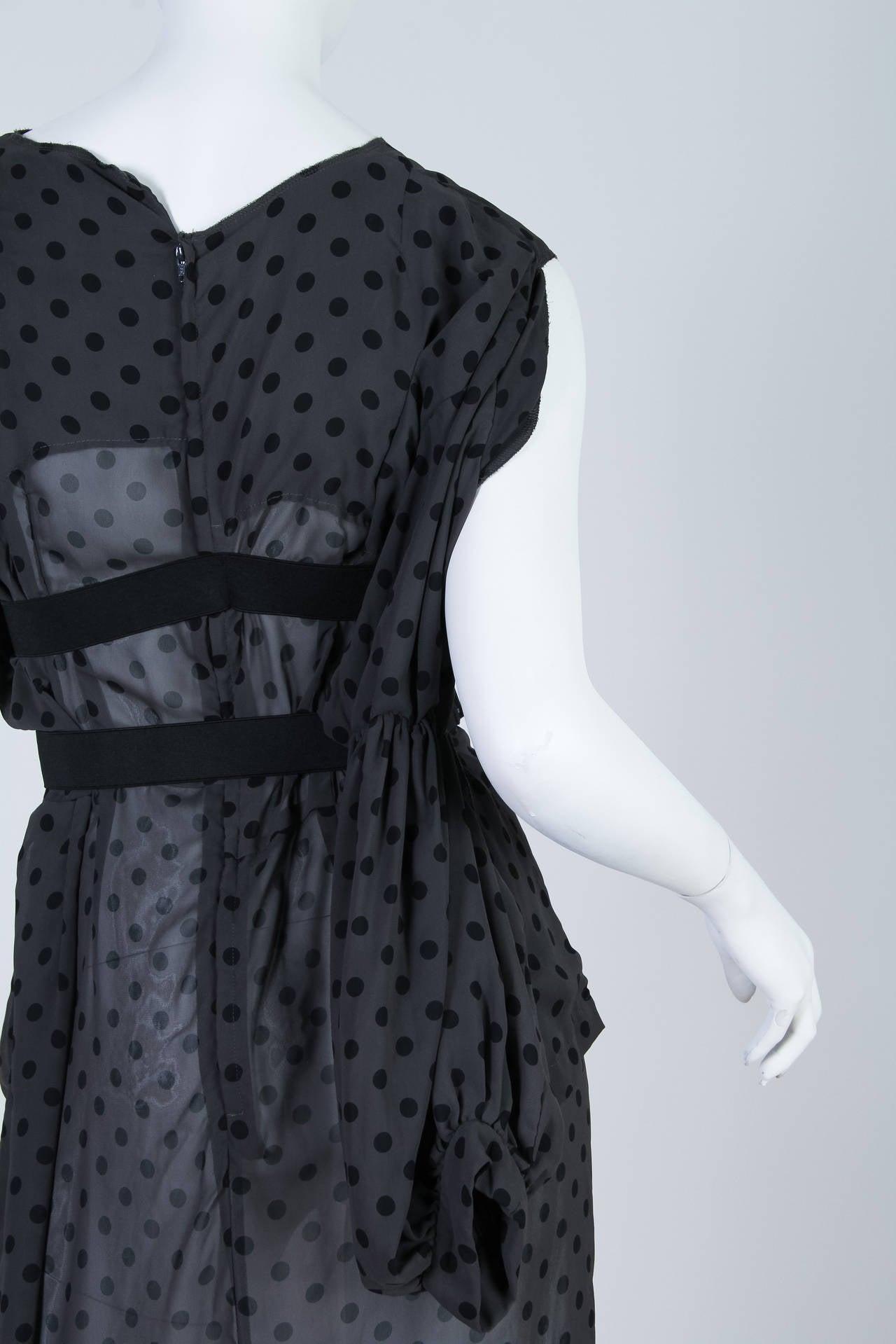 COMME des GARCONS  Deconstructed Chiffon Dress 9