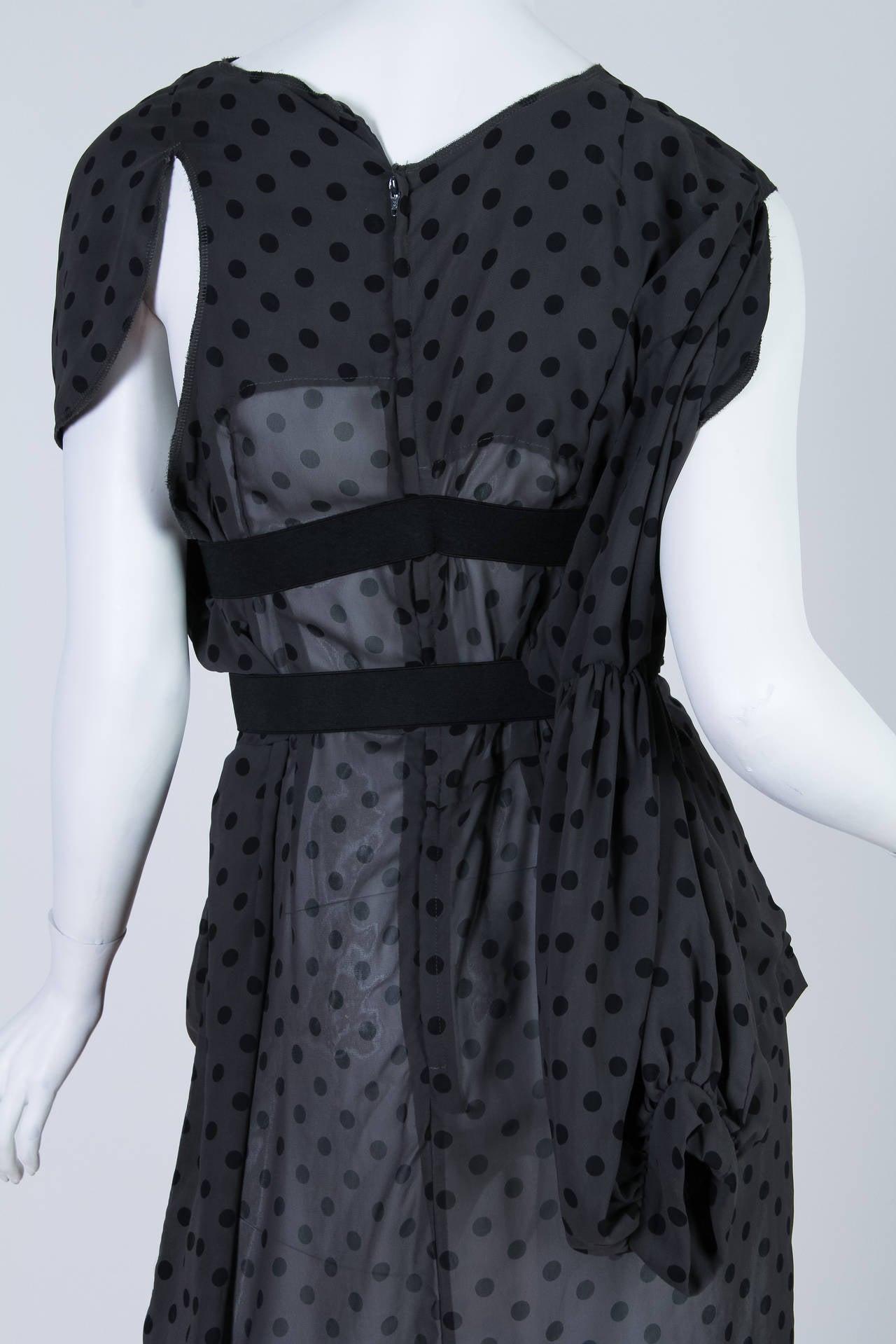 COMME des GARCONS  Deconstructed Chiffon Dress 6