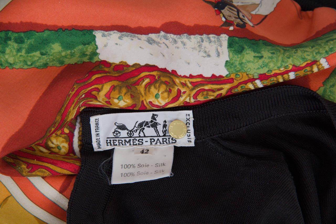 Hermès Matador Scarf Print Pullover For Sale 5