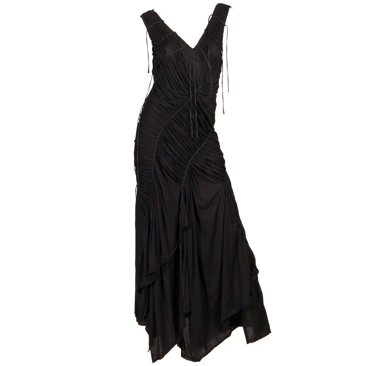 Issey Miyake Goth Jersey Gown