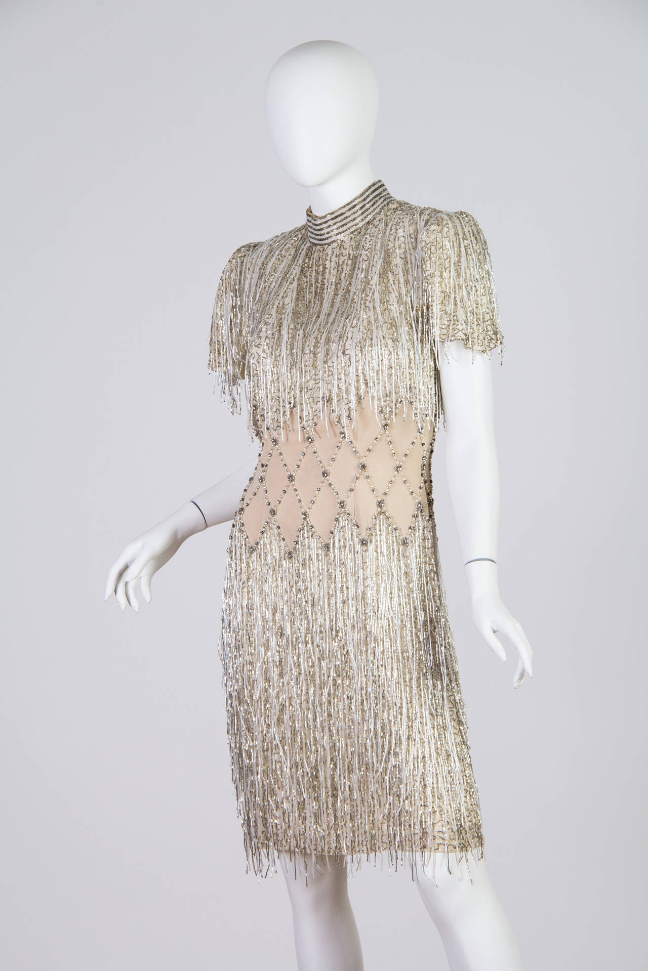 Spectacular Beaded Fringe Dress 2