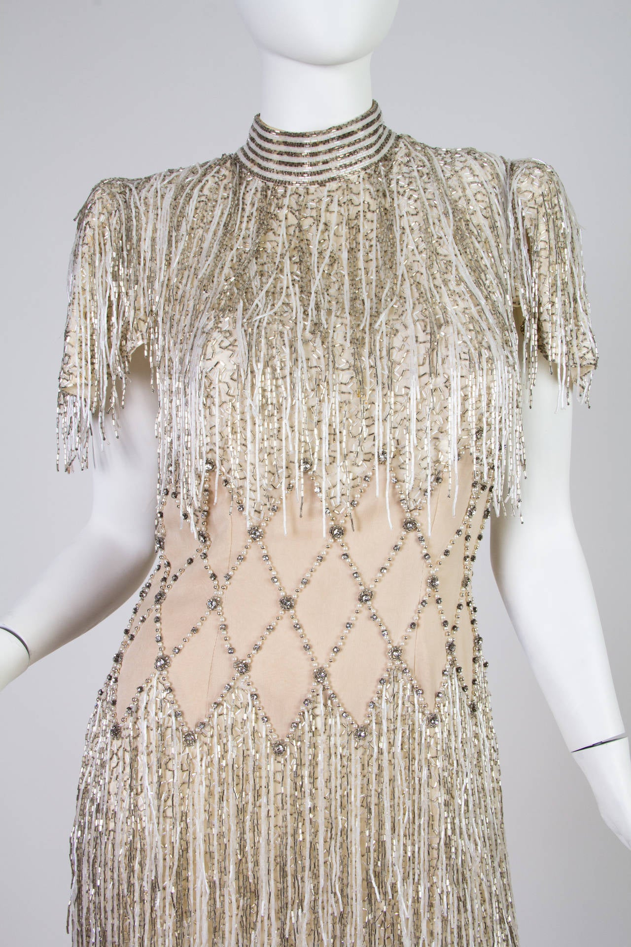 Spectacular Beaded Fringe Dress 5