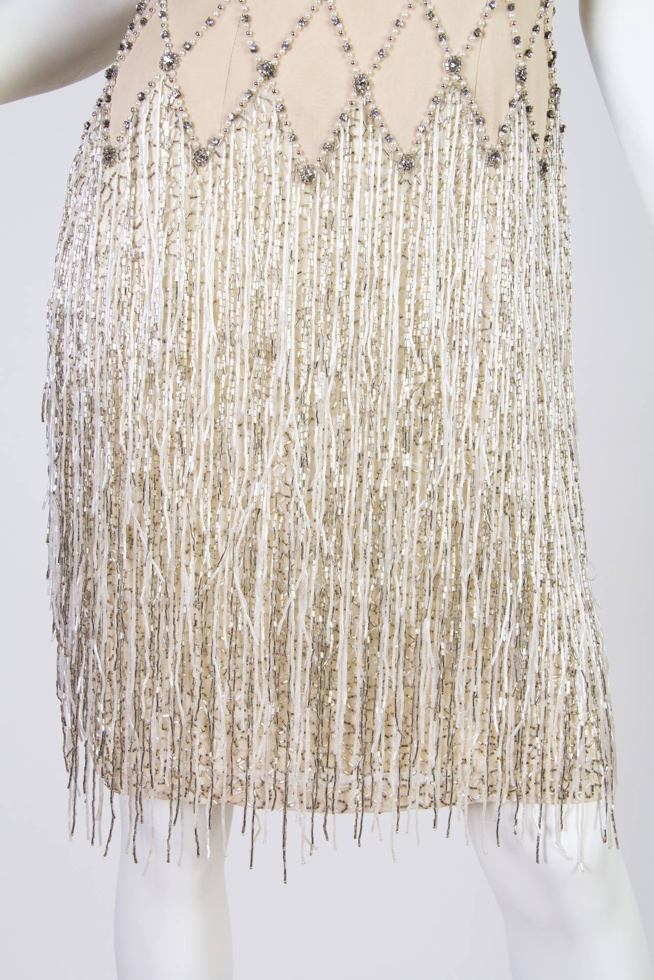 Spectacular Beaded Fringe Dress 6