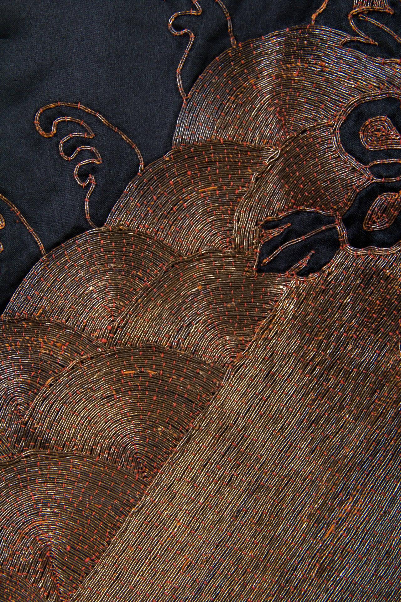 Early Chinese Embroidered Jacket Kimono style 7