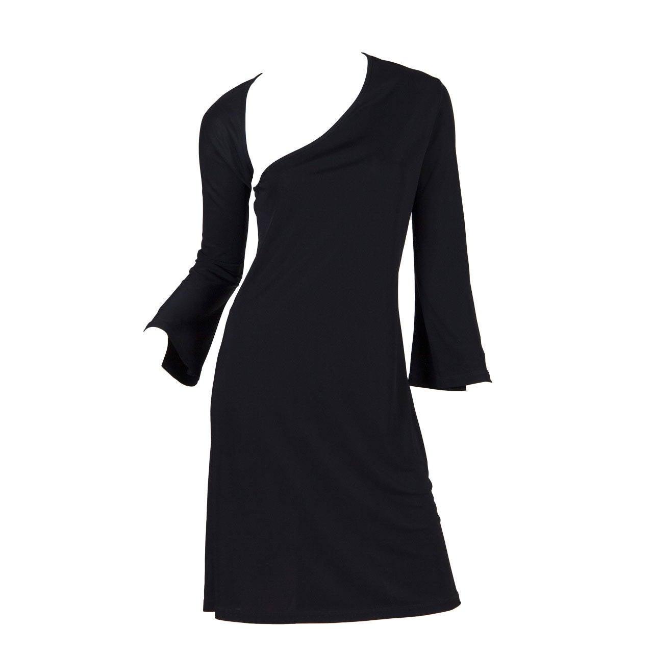 Jean Paul Gaultier Wraparound Sleeve Dress