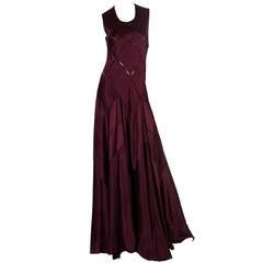 Calvin Klein Collection Bias Cut Gown