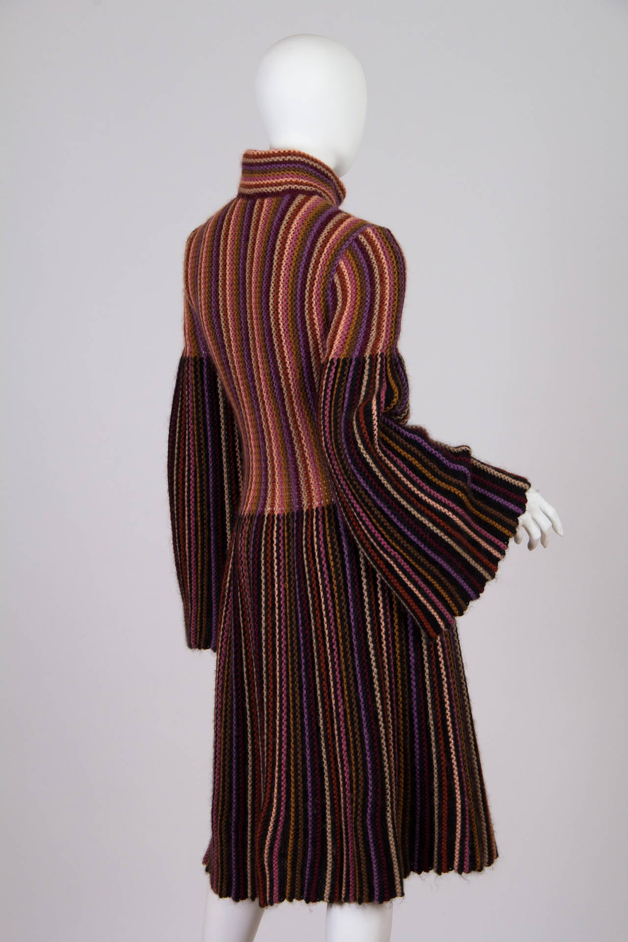 Blanket soft Missoni Mohair and Wool Knit Coat. 4