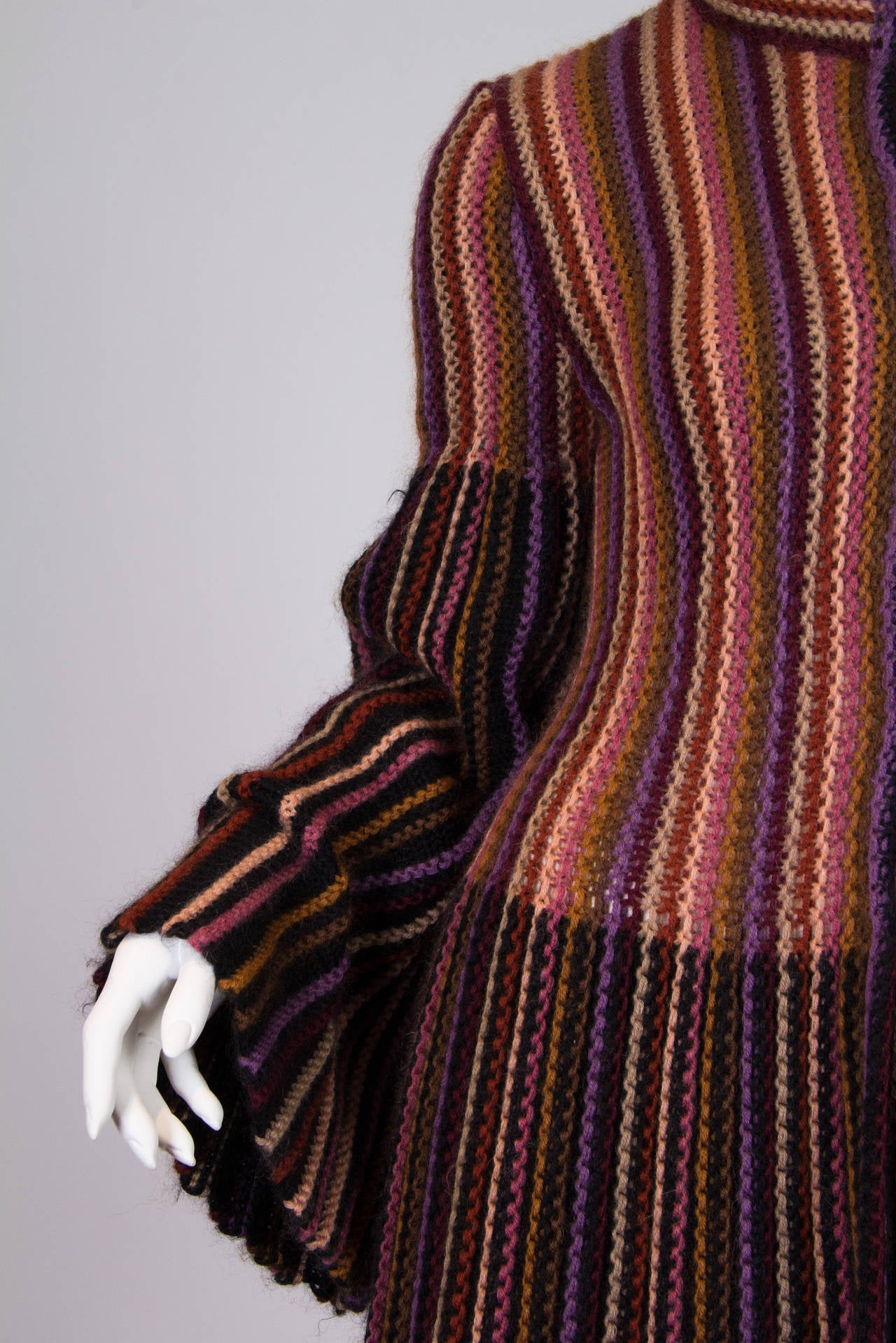 Blanket soft Missoni Mohair and Wool Knit Coat. 5
