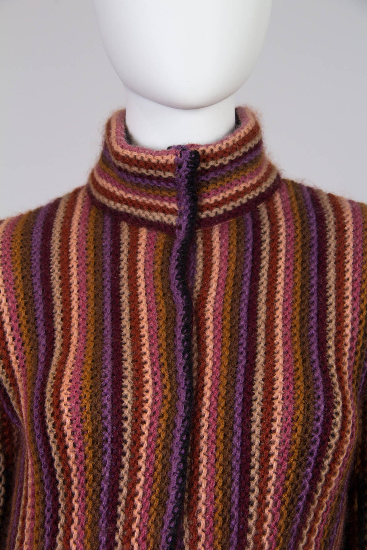 Blanket soft Missoni Mohair and Wool Knit Coat. 6