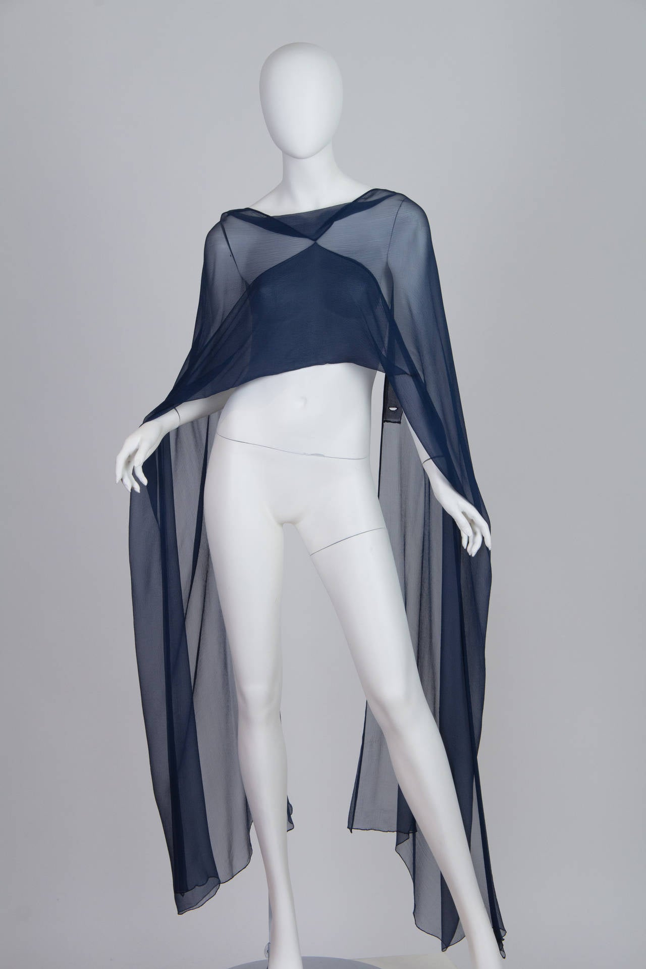 1960s Balmain Haute Couture Gown For Sale 4
