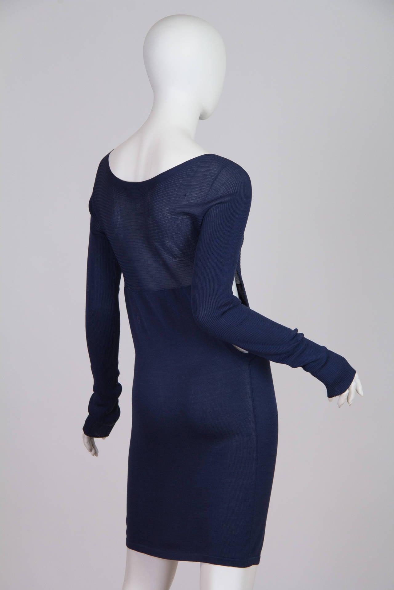 Yohji Yamamoto Side Cut-Out Dress 3
