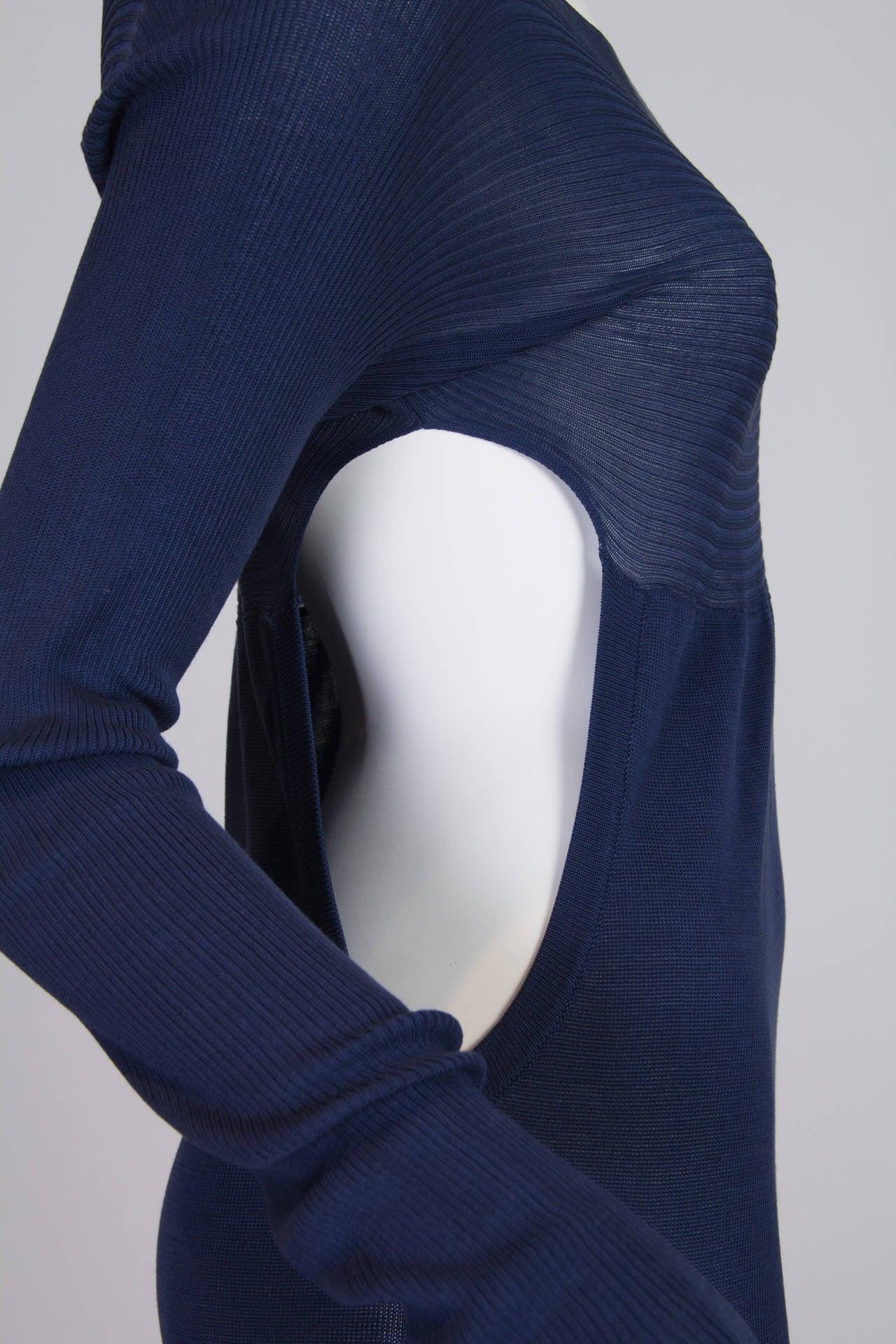 Yohji Yamamoto Side Cut-Out Dress 4