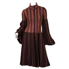 Blanket soft Missoni Mohair and Wool Knit Coat.
