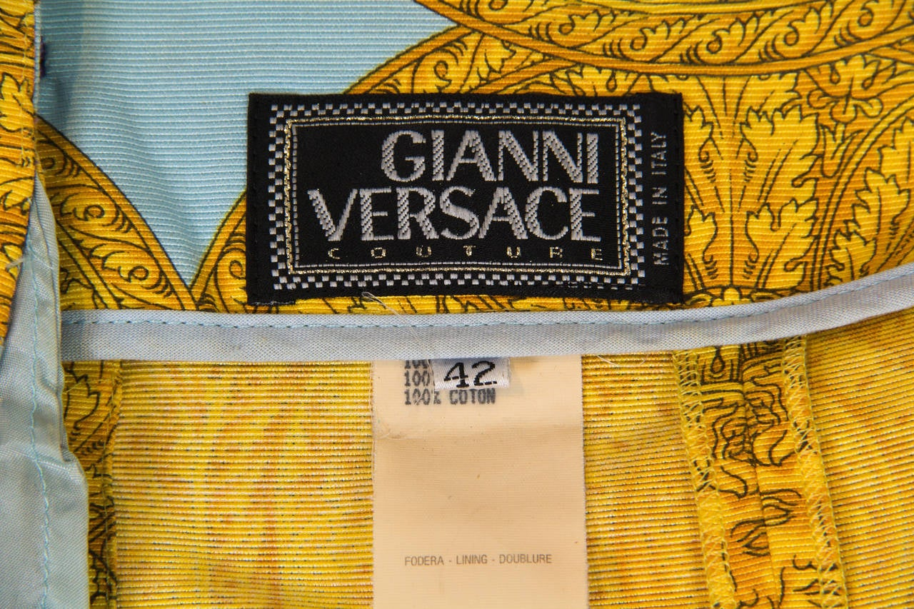 1992 Gianni Versace shorts For Sale 5