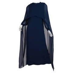 1960s Balmain Haute Couture Gown