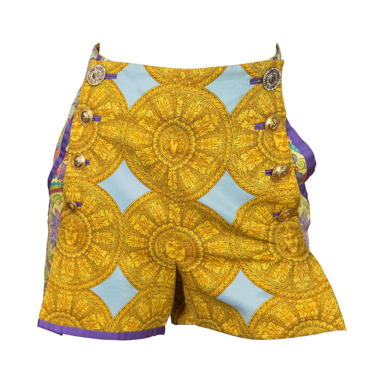 1992 Gianni Versace shorts For Sale