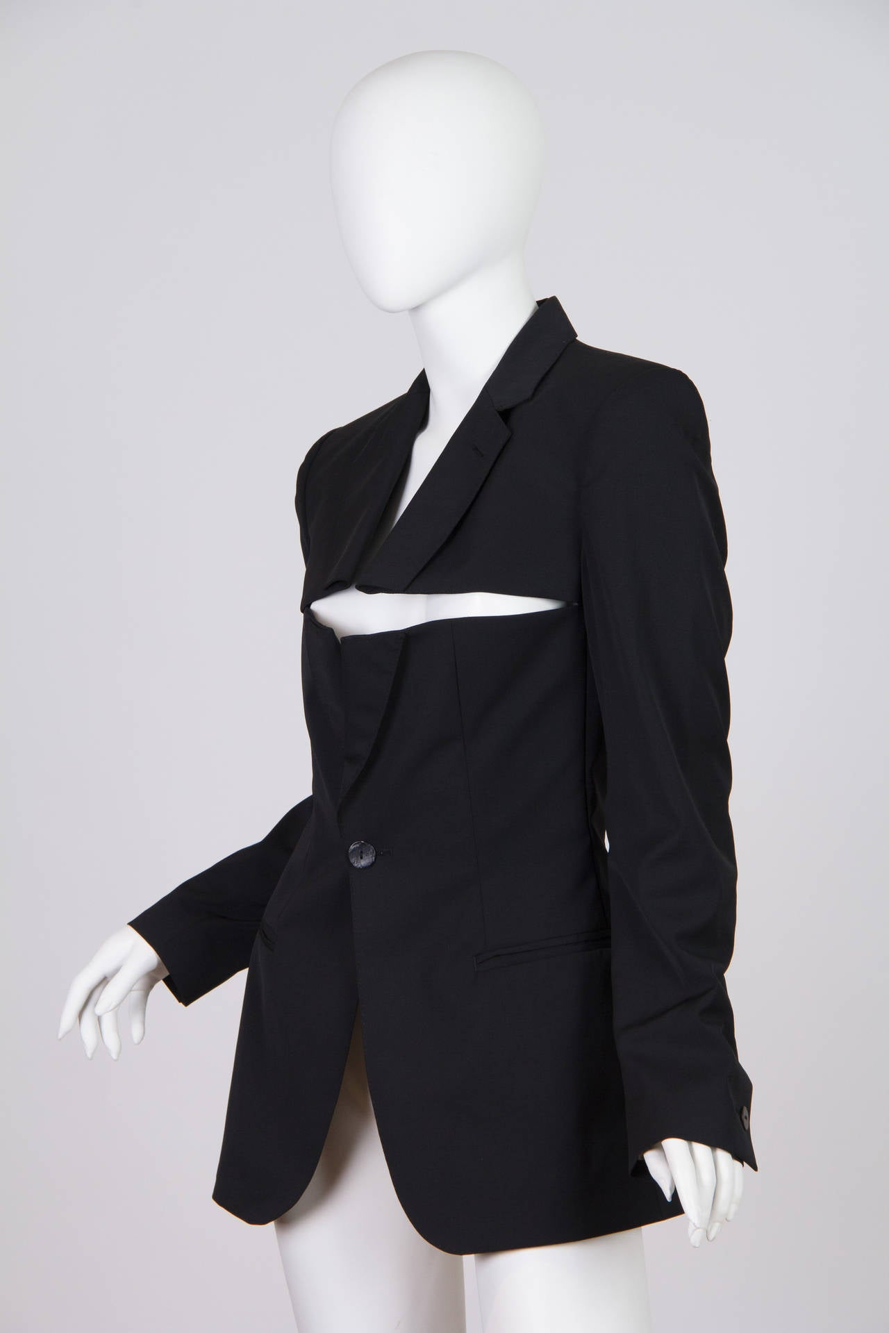 Jean Paul Gaultier Slashed Blazer 7
