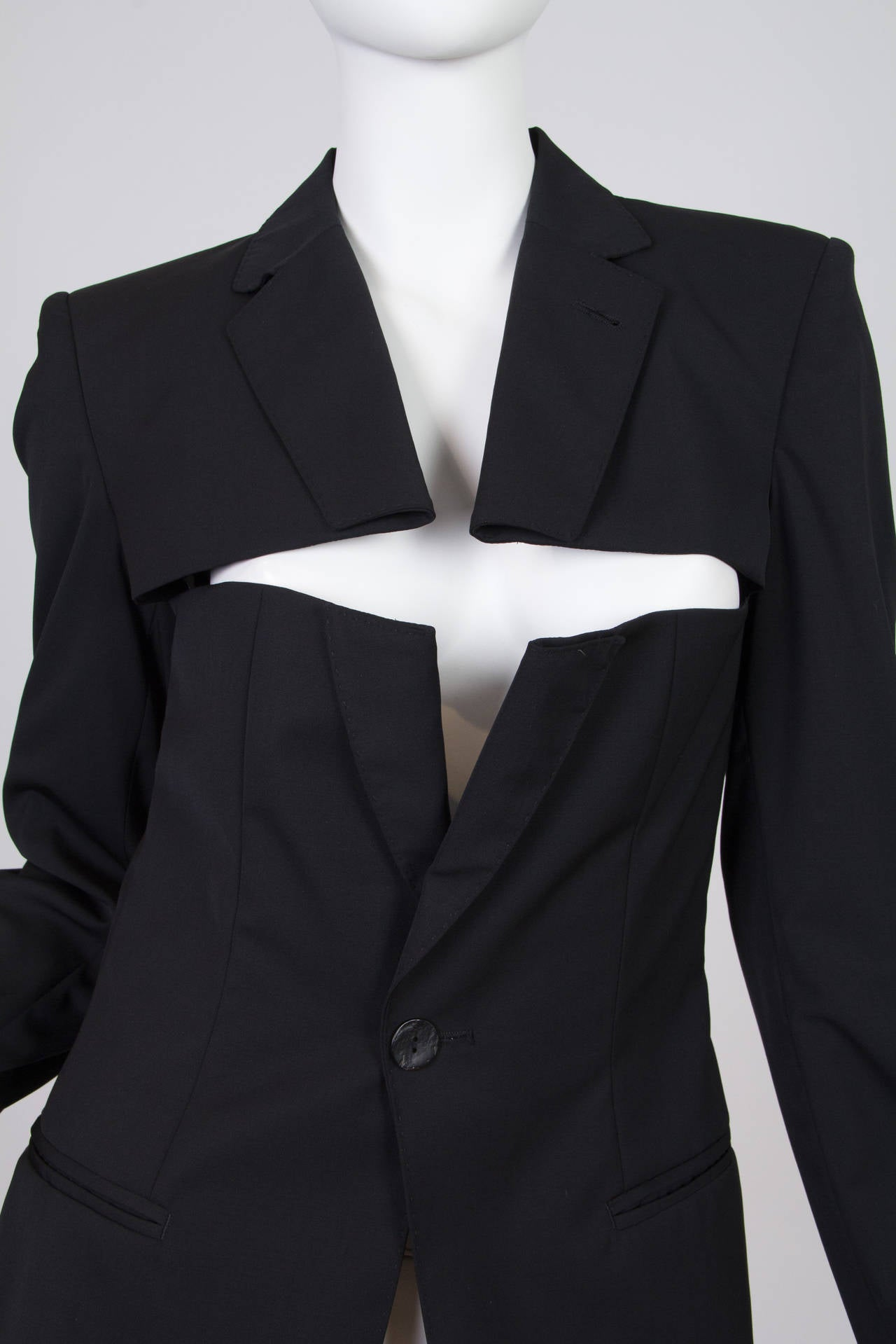 Jean Paul Gaultier Slashed Blazer 6