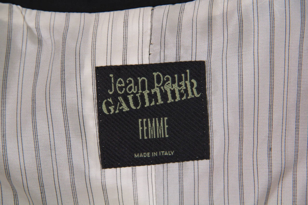 Jean Paul Gaultier Slashed Blazer 10