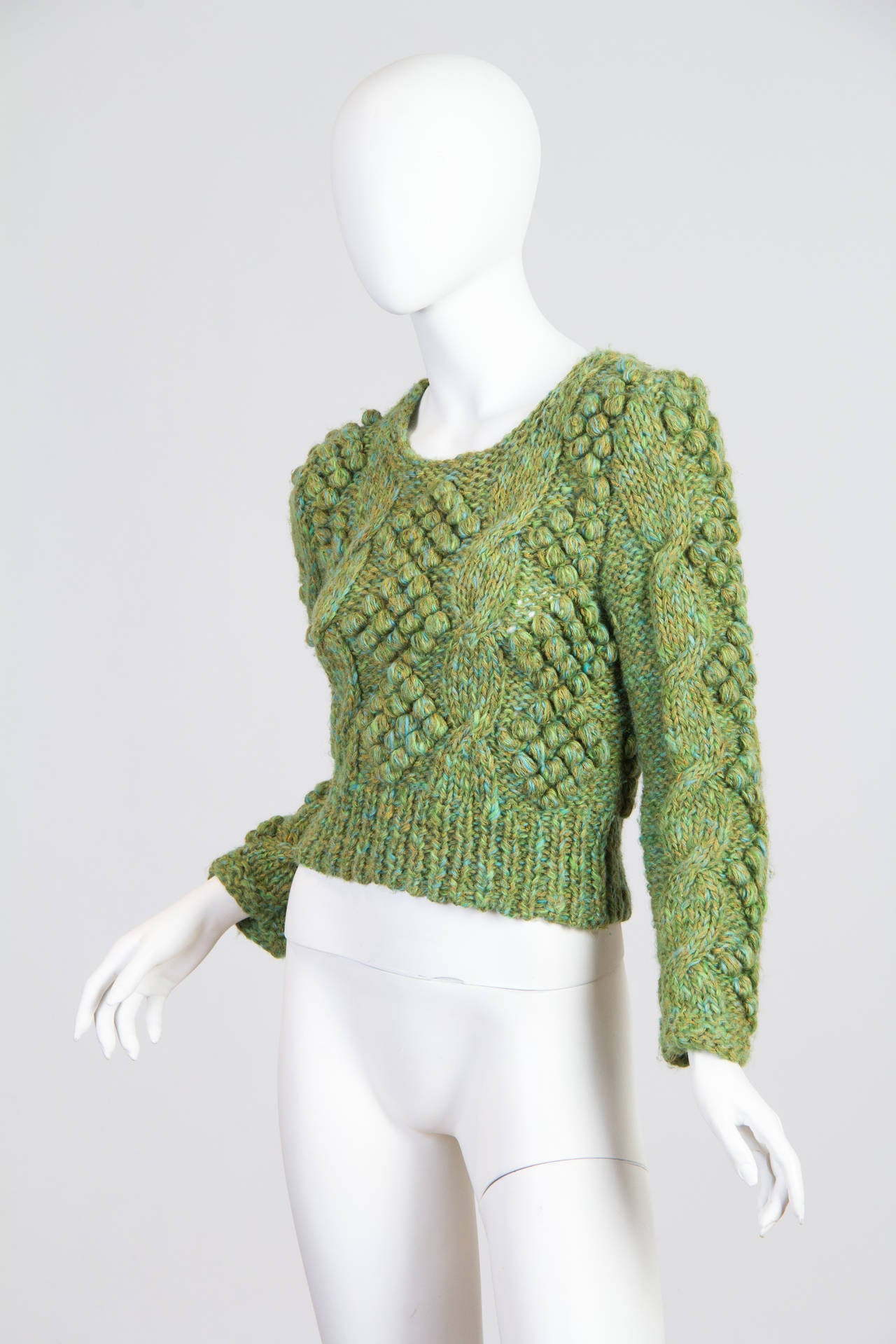 Gorgeous, and in very mint condition. A rare early piece from Kansai when he was still experimenting with 3-D knits.