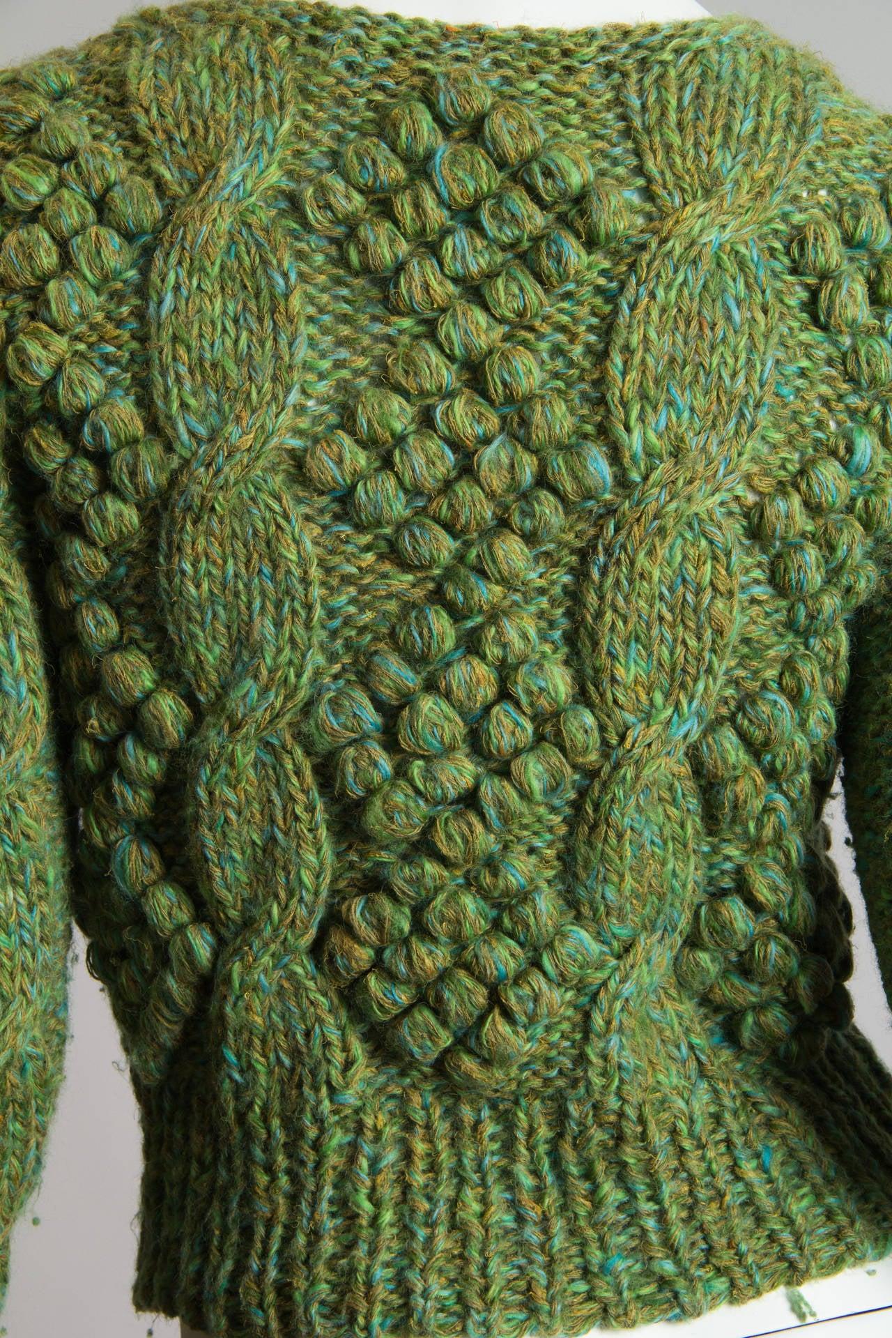 Early Kansai Yammamoto Sweater For Sale 1