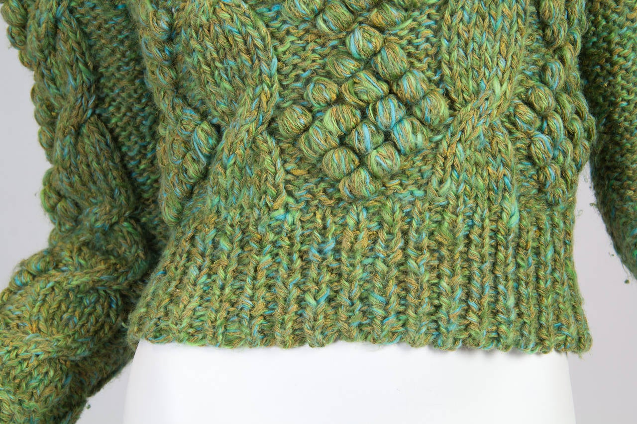 Early Kansai Yammamoto Sweater For Sale 2