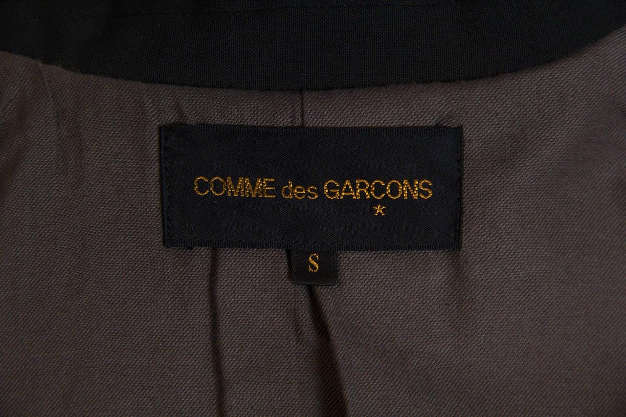 1998 Comme des Garcons Desconstructed two piece Coat For Sale 5