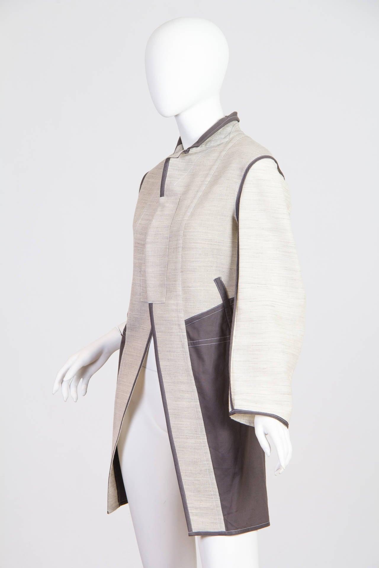 1998 Comme des Garcons Desconstructed two piece Coat For Sale 1