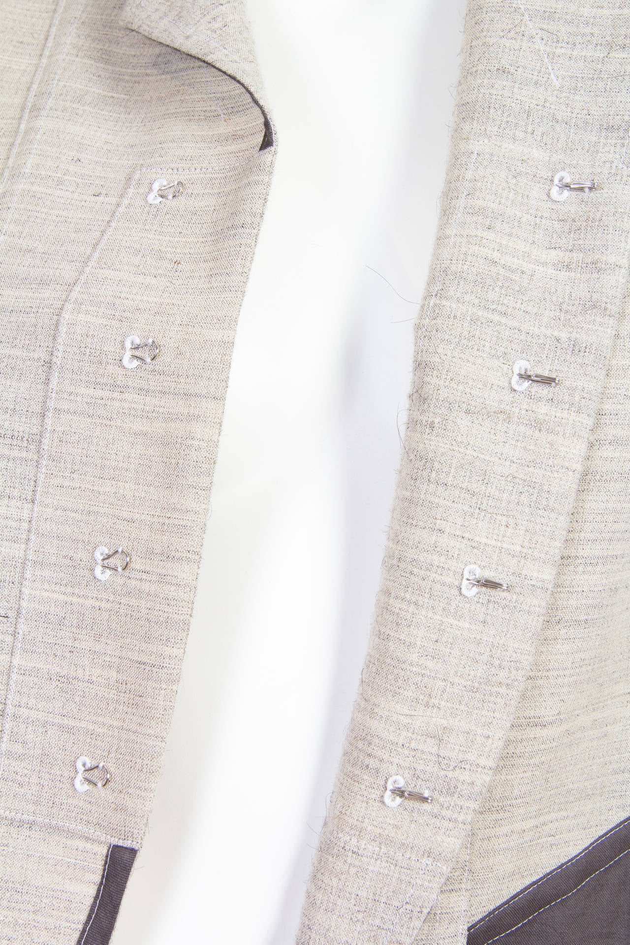 1998 Comme des Garcons Desconstructed two piece Coat For Sale 3