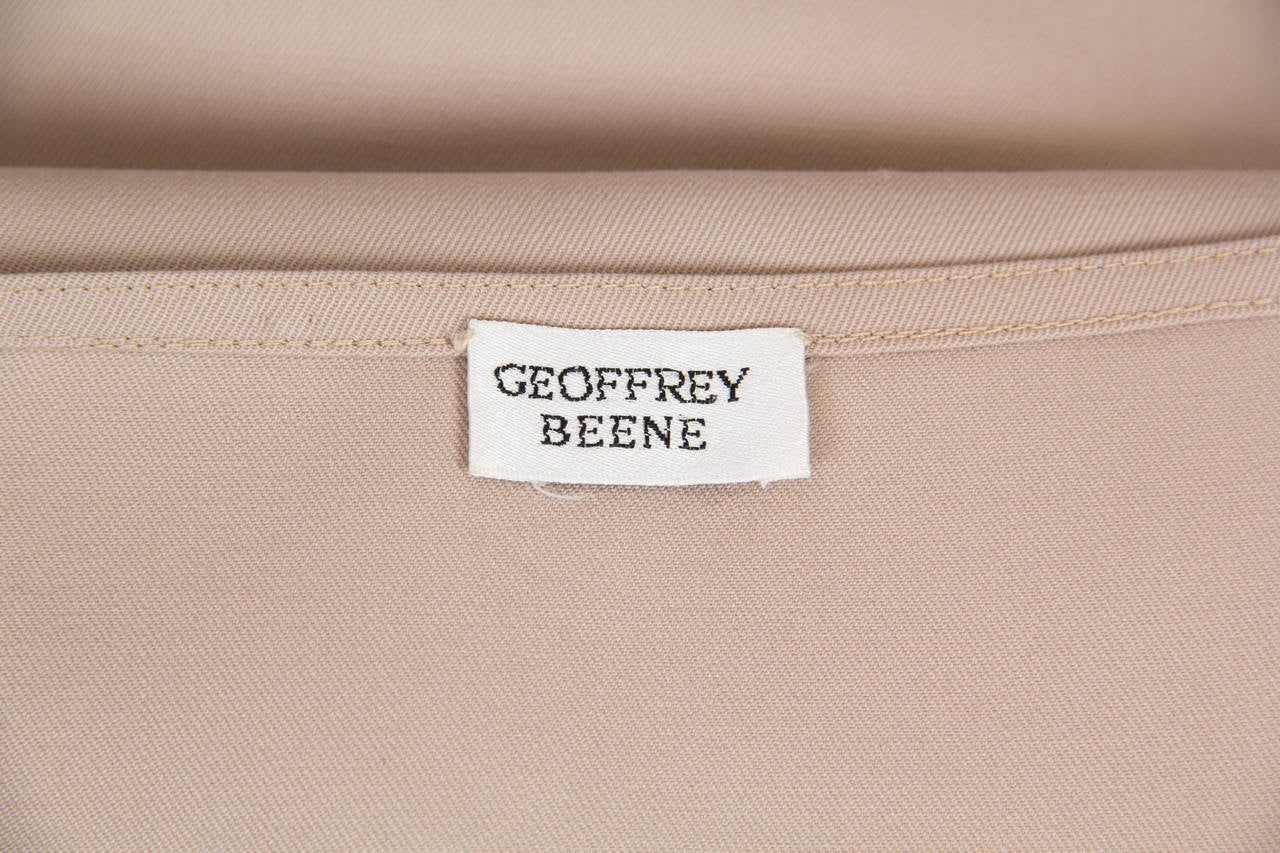 Minimalist Geoffrey Beene Dress For Sale 4