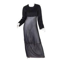 Comme des Garcons Deconstructed Dress